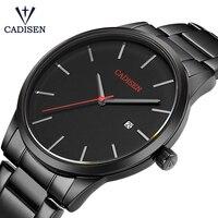 Relogio Masculino CADISEN Top Luxury Brand Analog Sports Wristwatch Display Date Men S Quartz Watches Business