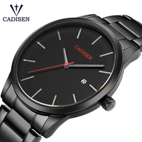 Relogio Masculino CADISEN Top Luxury Brand Analog Sports Wristwatch Display Date Men S Quartz Watches Business