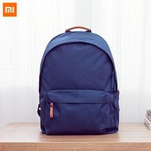 100% оригинал xiaomi опрятный стиль студенты рюкзак школьные сумки с 25l емкость для 14 дюйм(ов) компьютер/pc ipad ноутбук пластины