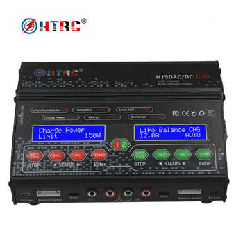 HTRC H150 DUO AC/DC 300W 12Ax2 Dual Output High Power RC Balance Charger Discharger for Lilon/LiPo/LiFe/LiHV/Nimh/Nicd Battery - DISCOUNT ITEM  17% OFF All Category