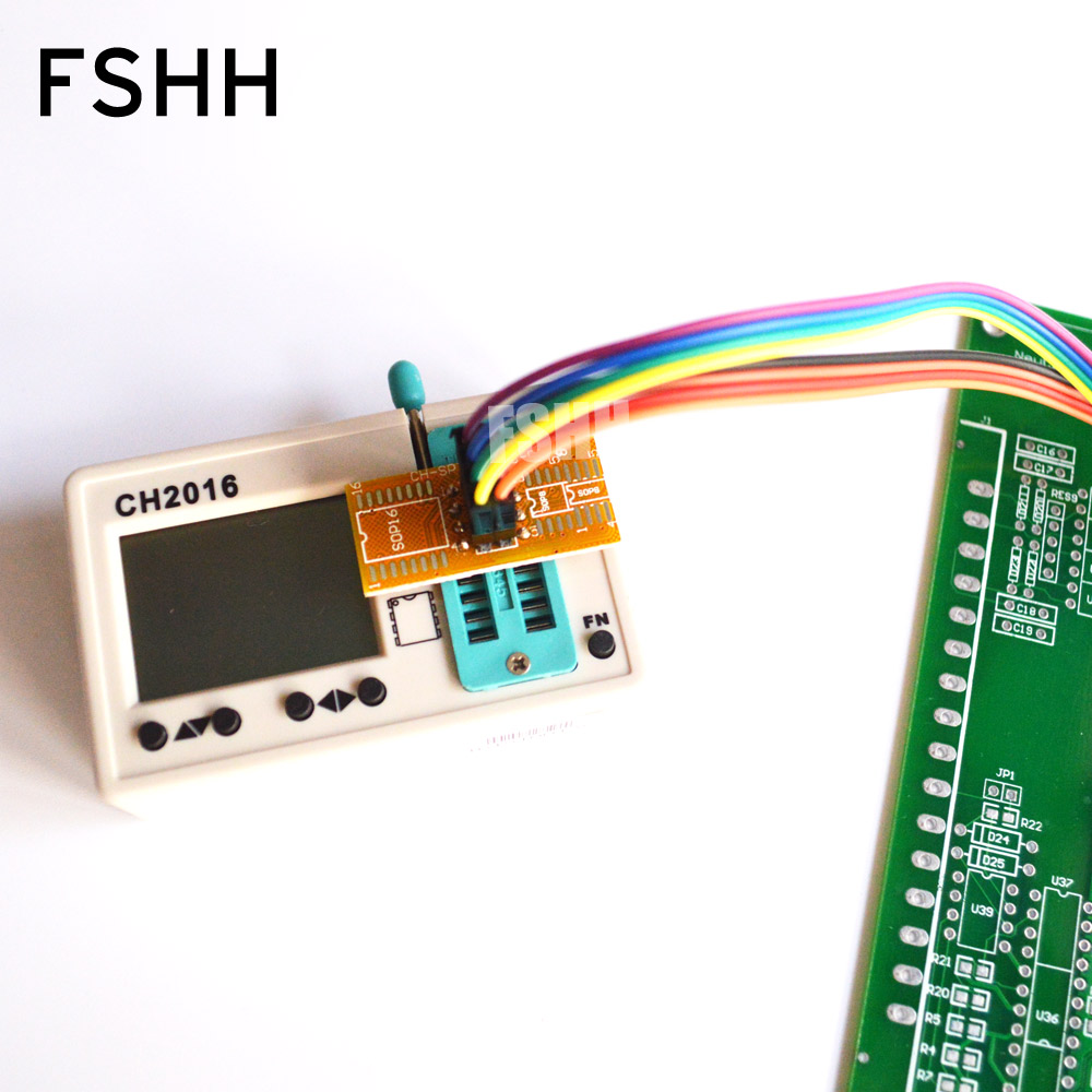 Image 2 - 150mil 200mil SOIC8 SOP8 Тесты зажим для EEPROM/93CXX/25CXX/24CXX программирование в цепи-in Промышленный компьютер и аксессуары from Компьютер и офис