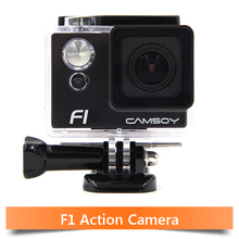 Camsoy Full HD 1080P Action camera 130mins Working Time 50Meters go waterproof pro camera