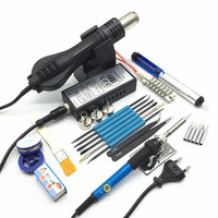 Hot Air Gun 8858 BGA Rework Solder Station Hot Air Blower Welding Repair Tools