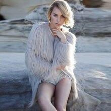 Short Fur Coat Floating Hair Jacket 2016 Fur Overcoat Imitation Fur Faux Fox Jackets Hairy Party Fur Warm Coat Plus Size XXXL