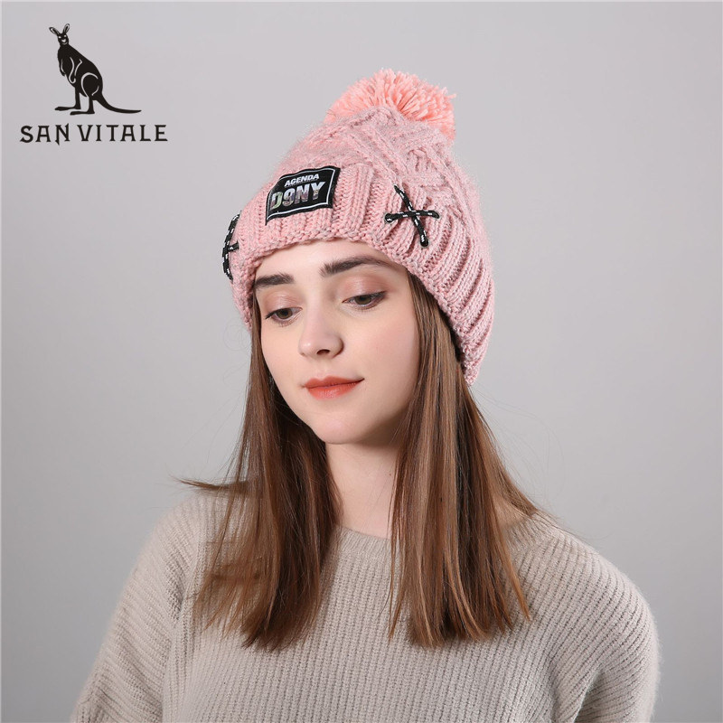 Skullies     Beanies   Hats Women Hats Winter Warm Cashmere   Beanie   Fashion Clothing Christmas Clothes Accessories Apparel For Ladies