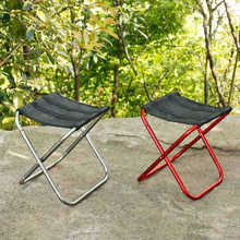 2017 New Arrival Portable Aluminum Folding Stool Outdoor Fishing Travel Beach Chair