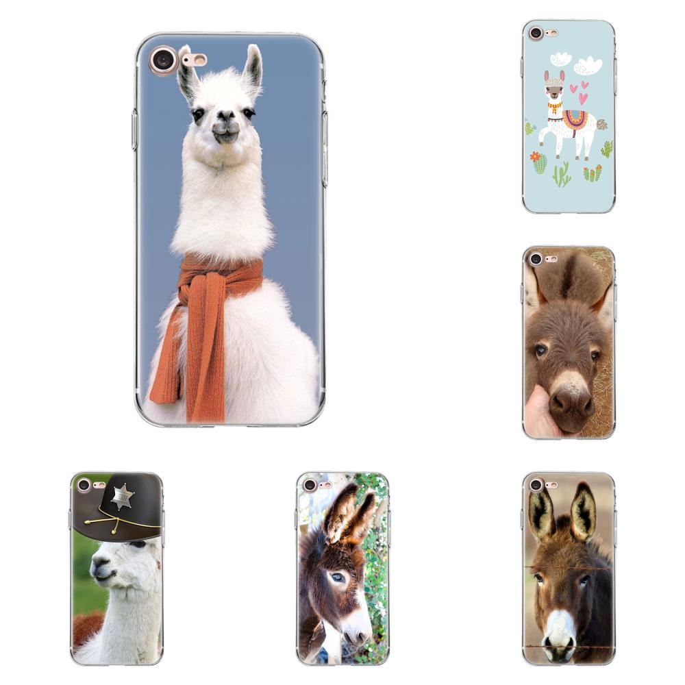 Cute alpaca donkey For Xiaomi Redmi 5 4A 3 3S Pro Mi4 Mi4i Mi5 Mi5S Mi Max Mix 2 Note 3 4 Plus On Sale Luxury Cool Phone Case