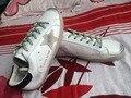 Antiguo de la vendimia 2016 de moda los hombres y mujeres amantes de los zapatos planos zapatos de los hombres y mujeres de ocio zapatos