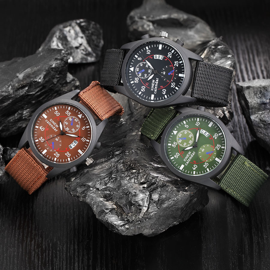 montre homme marque de luxe mens date stainless steel quartz analog watches wrist watch zegarek