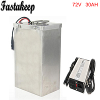 72Volt 3000Watt Lithium eBike Battery 72V 30Ah 18650 Battery Pack For Electric Bike