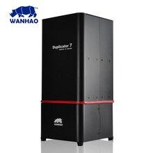 2017 новейшая версия 3D принтер Wanhao Дубликатор 7 (D7) V1.4, более стабильным, с красной крышкой, анти-колебание Дизайн DLP SLA 3D принтера