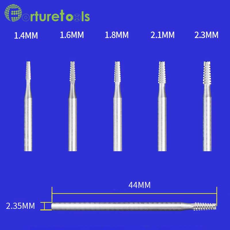 Denti da taglio in tungsteno di tipo B Inserti per frese Utensili - Utensili abrasivi - Fotografia 6