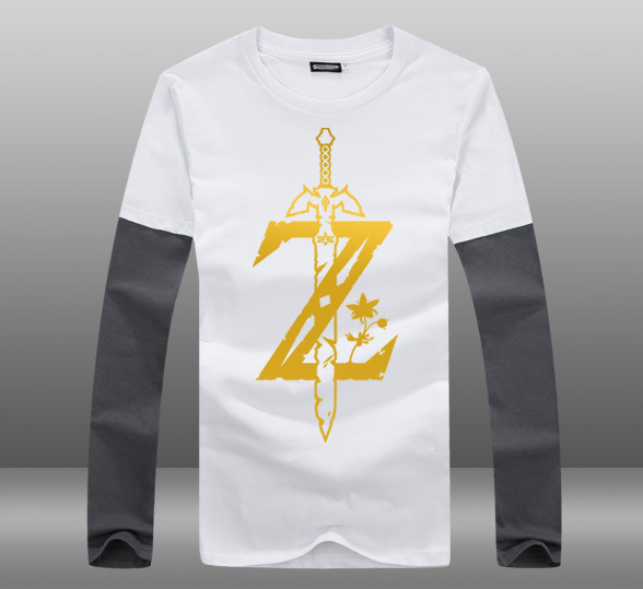 The Legend of Zelda Print T-Shirt