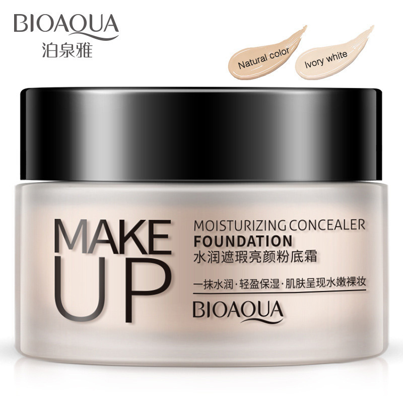 BIOAQUA BB CC Cream Foundation Facial Creams Cosmetics Concealer Dark Skin Moisturizing Whitening Natural Nude Makeup Skin Care цена 2017