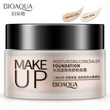 BIOAQUA BB CC Cream Foundation Facial Creams Cosmetics Concealer Dark Skin Moisturizing Whitening Natural Nude Makeup Skin Care