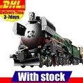 En-Stock LEPIN 21005 1085 Unids Serie Técnica Esmeralda Noche Tren Modelo Kits de Construcción Ladrillos Bloques Niños Juguetes 10194