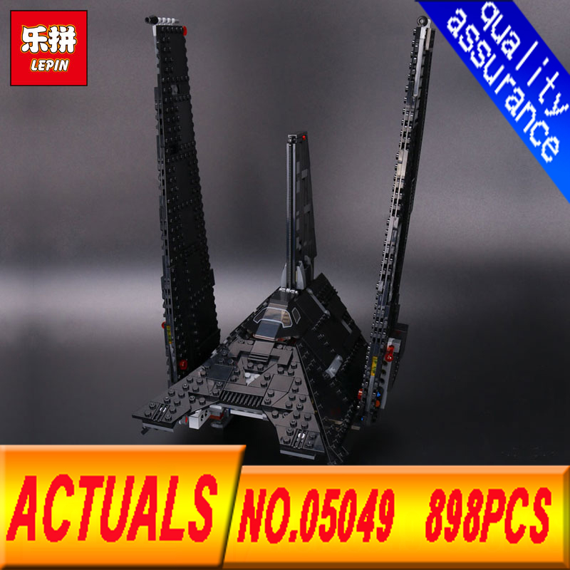 LEPIN 05049 STAR WARS 898pcs Imperial Shuttle Figure Blocks Educational Construction Building Bricks Toys For Children gift wisehawk nano star wars yoda building blocks big size characters figure educational toys diy assembly micro brick christmas gift