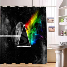 WJY510H34 Custom Pink Floyd Fabric Modern Shower Curtain bathroom Waterproof  Free Shipping  N34