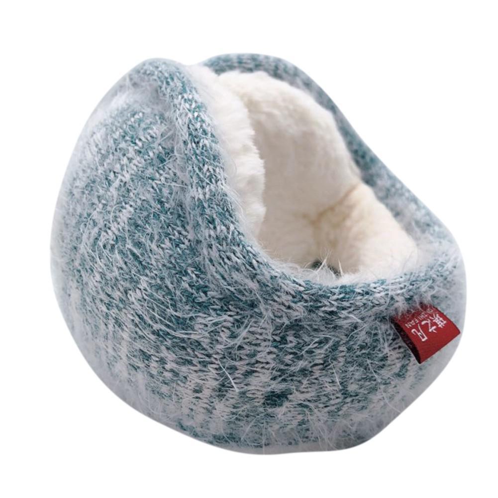 World best Monitor I Love You Winter Earmuffs Ear Warmers Faux Fur Foldable Plush Outdoor Gift