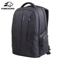 Kingsons 15.6 תרמיל מחשב נייד עמיד למים עבור גברים ונשים שרוול נגד גניבת תיק מחשב נייד באיכות גבוהה Pack עבור כרית