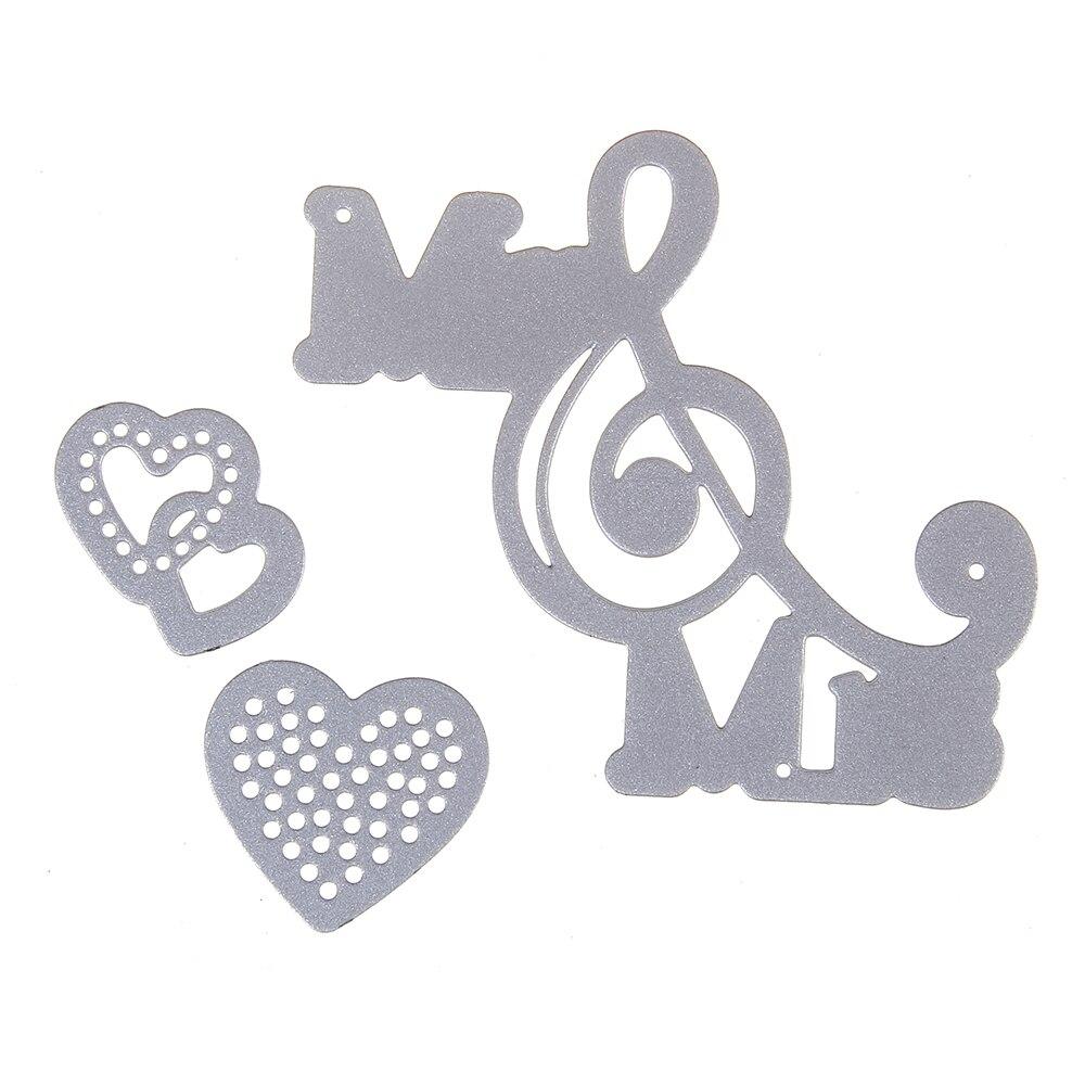 5.5*5.5cm New scrapbooking DIY cute Mr&Mrs Love shape steel cutting die sweet wedding Book photo album art card cake Dies Cut