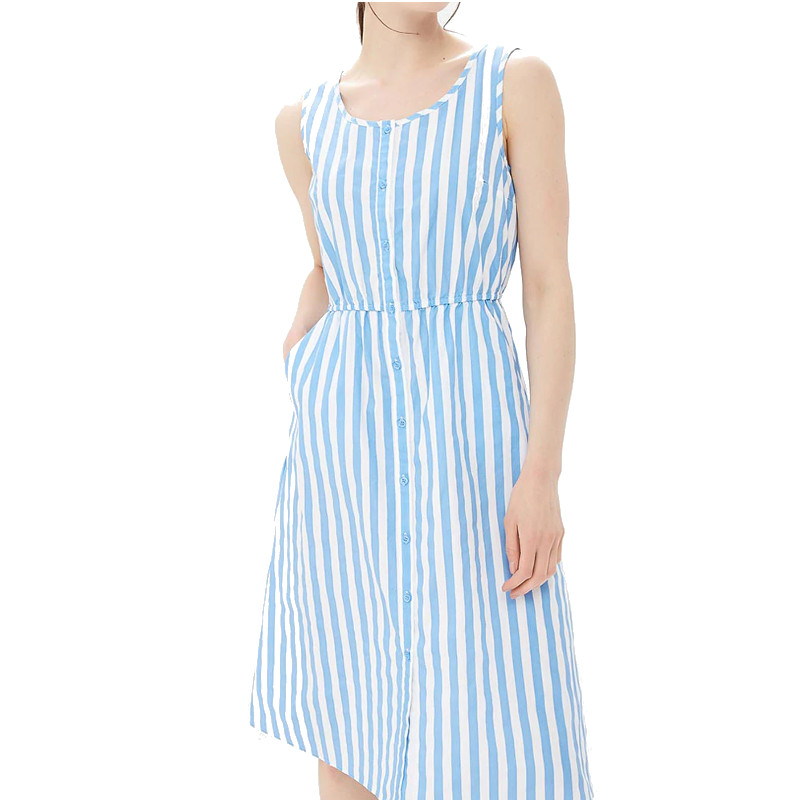 Dresses MODIS M181W00818 women dress cotton  clothes apparel casual for female TmallFS dresses dress befree for female half sleeve women clothes apparel casual spring 1811344566 50 tmallfs