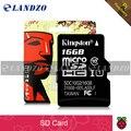 16 GB Raspberry PI Cartão SD 3 Ras PI3 Modelo B originais class10 cartão tf cartão microsd para o bpi banana r1, m3, m2 +, m1 +, d1, orange PI