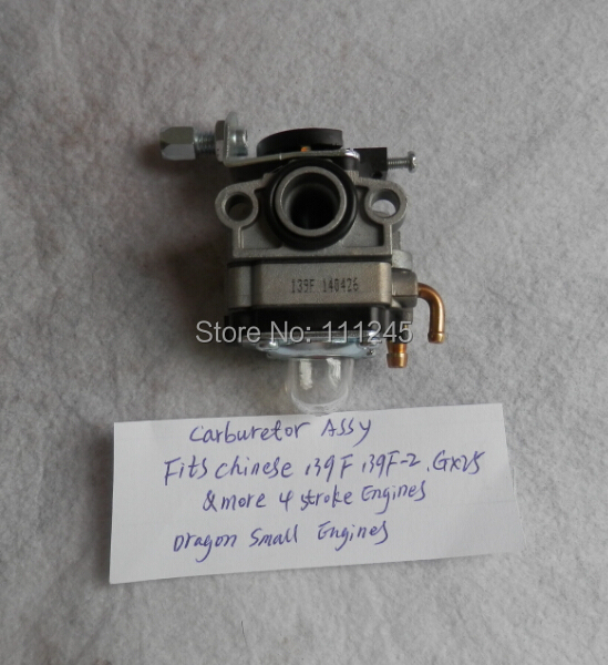 CARBURETOR ASY FOR HONDA GX25 139F MINI 4 STROKE STRIMMER BICYCLE SCOOTER CARBURETTOR TRIMMER BRUISHCUTTER BLOWER CARBY стоимость