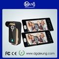 Home security video door phone doorbell intercom 1 camera 2monitors QLEUNG Wireless Video Door Phone