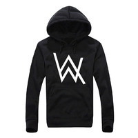 DJ Alan Walker Faded Men Sweatshirt 2017 Hot Spring Winter Sweatshirts Hoodies Men Fleece High Quality