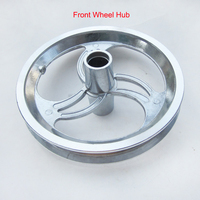 12 inch Front / Rear Wheel Hub for Small Dolphin Electric Scooter Tire 12 1/2x2 1/4(12.5x2.25) or 12 1/2x2 1/2(12.5*2.5)