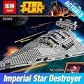 Новый Лепин 05062 1359 шт. Подлинная Звездные Войны Серия Imperial Star Destroyer 75055 Строительные Блоки Кирпичи Развивающие Игрушки