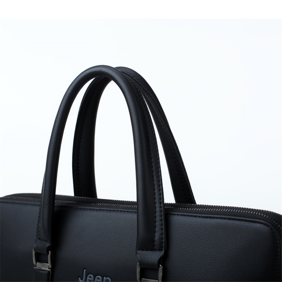 HTB17ft2b2Bj uVjSZFpq6A0SXXaF JEEP BULUO Men Leather Briefcase Bag Business Famous Brand Shoulder Messenger Bags Office Handbag 14 inch Laptop High Quality