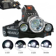 PANYUE High Quality Led Headlamp Headlight 3000 Lumens RJ5000 T6+2R2 Hiking Head Light USB Rechargeable Waterproof lamp
