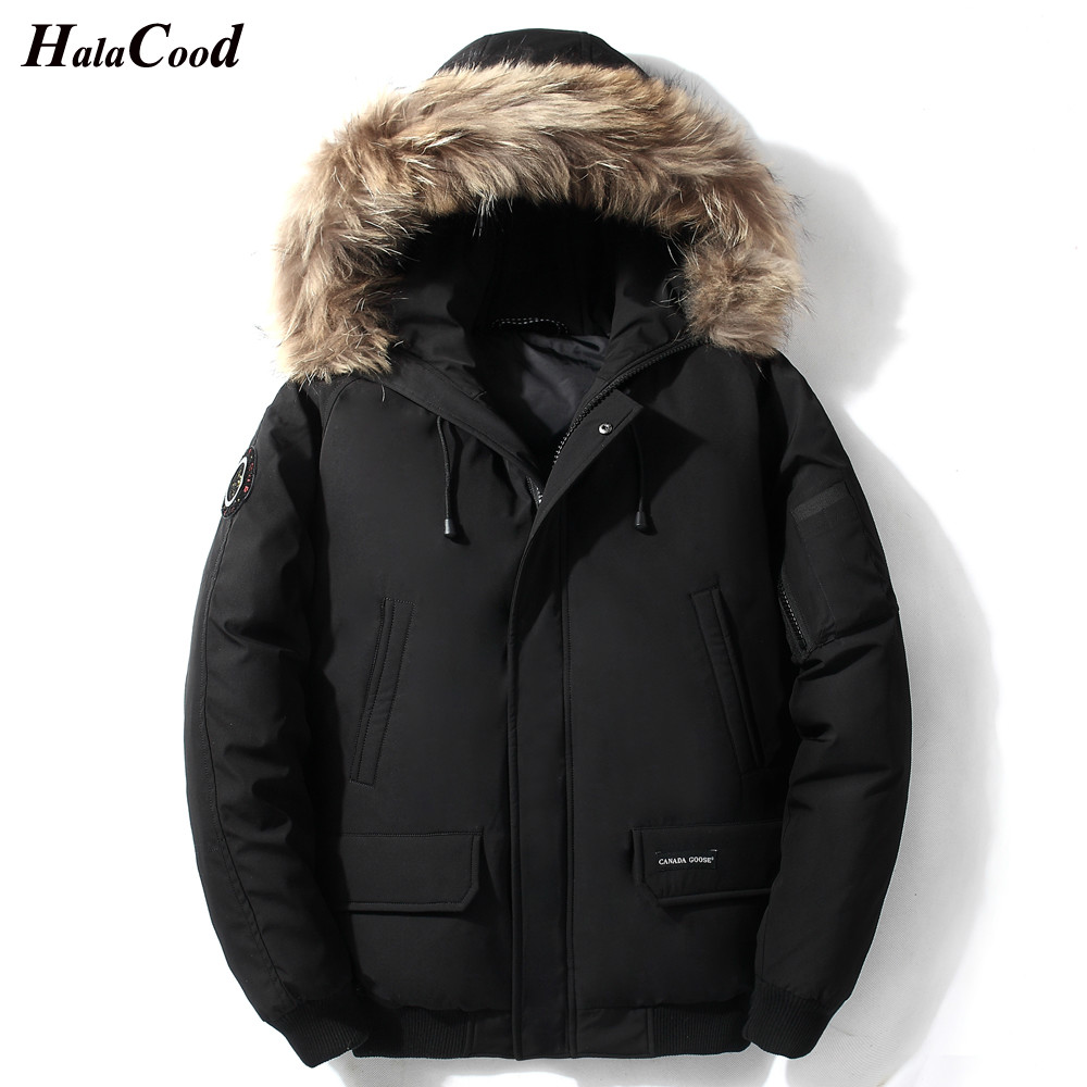 HALACOOD 2018 Quality White Duck Thick   Down   Jacket Men   Coat   Snow Parkas Male Warm Brand Clothing winter   Down   Jacket Outerwear
