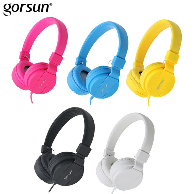 Gorsun GS-778 Computer Gaming Headset Casque Audio Gamer Wire Headphones Heavy Bass Stereo Game Headphone Headset For PC Tablets