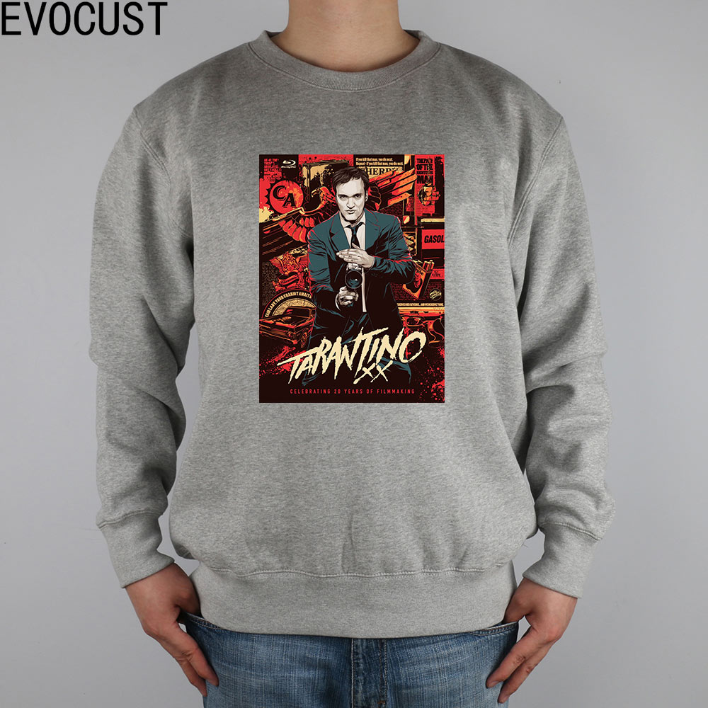 Quentin Tarantino Final  men Sweatshirts Thick Combed Cotton