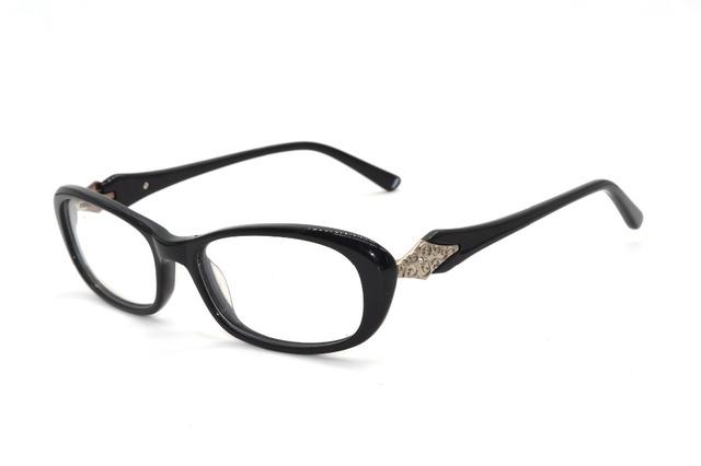 Ojo de gato bordes gruesos Marcos hechos a mano Por Encargo de lentes de prescripción miopía gafas de lectura gafas Fotocromáticas-1 a-6 a + 1 + 6