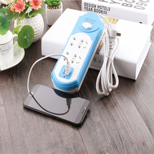 USB Electrical Power Socket Plug With 2 Extension Multifunctional Smart Strip 10A 250V 2500W Stock