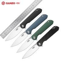 Ganzo Firebird FH41 D2 Blade G10 Handle Folding Knife Outdoor Survival Tactical Utility Bushcraft Pocket Military New EDC Knife