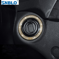 Car Styling Engine Start Ring Trim For Mercedes Benz C Class C180 C200 C260 C300 W204 2010 2013 Accessories Car Styling