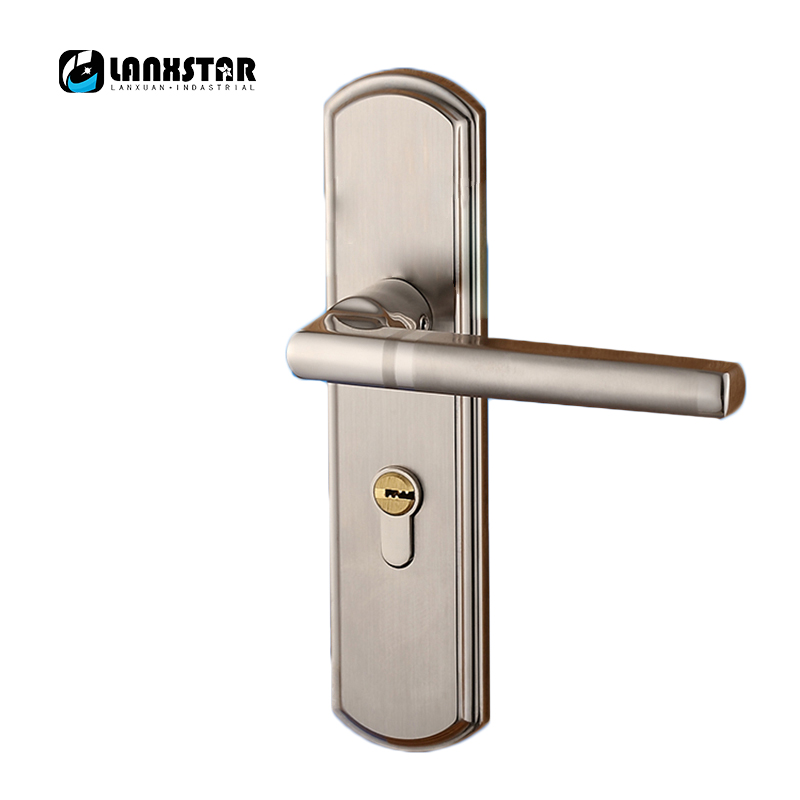 цены Wholesale Solid Wood Door Lock Interior Door Locks European-style Living Room Handle Locks