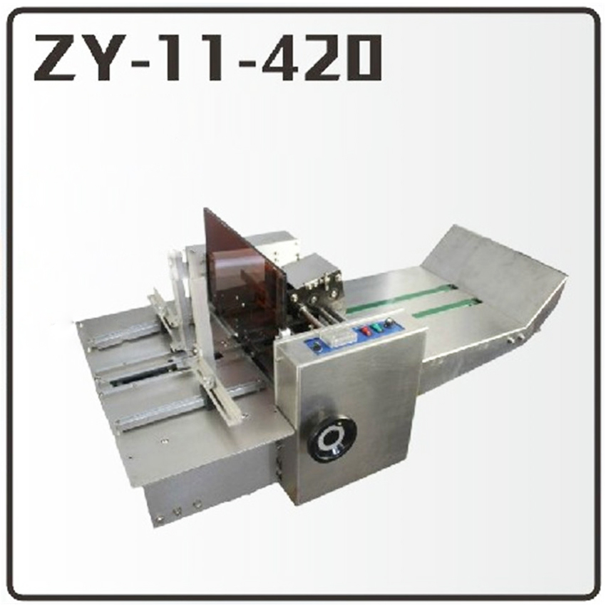1PC ZY-11-420 Pneumatic hot stamping machine Leather embossing LOGO Branding machine 220V Code printing machine toauto digital hot foil stamping machine large 10x13cm logo embossing tool manual logo branding pvc card paper printing machine
