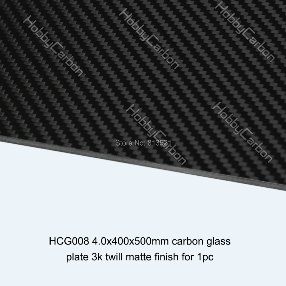 Carbon Galss Board 4.0X400X500mm twill matte carbon glass fiber plate/sheet whole sale hcf031 4 0x400x250mm 100% full carbon fiber twill weave matte plate sheet made in china