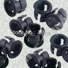 100pcs 5mm Plastic Black LED Clip Holder Display Panel 5mm led cover free shipping