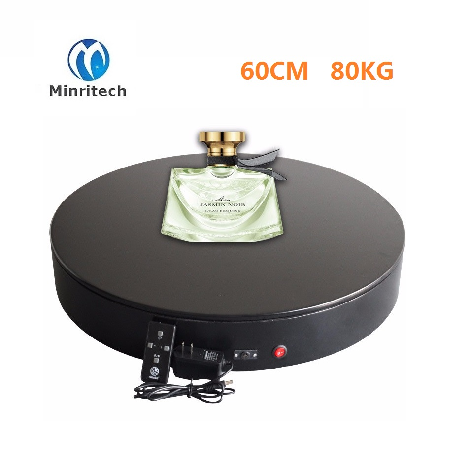 Three Speed 60CM 360 Angle Automatic Spinning Turntables Platform / Stage/ Stand / Base For Clothing Shop Mannequin Stand