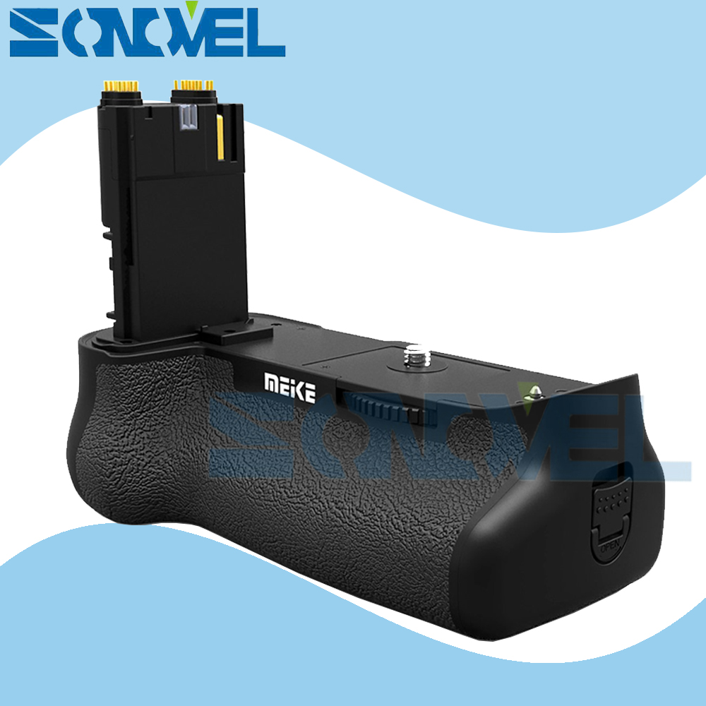 Meike MK-7D II Battery Grip Support Vertical Shooting for Canon EOS 7D Mark II 7D2 7D II LP-E6 LP-E6N as BG-E16 meike mk 5d4 vertical battery grip for canon eos 5d mark iv as bg e20 compatible camera works with lp e6 or lp e6n battery