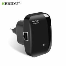 KEBIDU беспроводной N300 wifi повторитель 802.11n/b/g сети wifi роутеры 300 Мбит/с расширитель диапазона Усилитель сигнала wifi Ap Wps шифрование