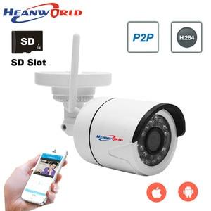 Image 2 - IP אלחוטי WIFI מצלמה מיני 2.0MP IP המצלמה חיצוני 1080 P 960 P 720 P ראיית לילה ONVIF אבטחת CCTV מצלמה IP מצלמת ABS פלסטיק