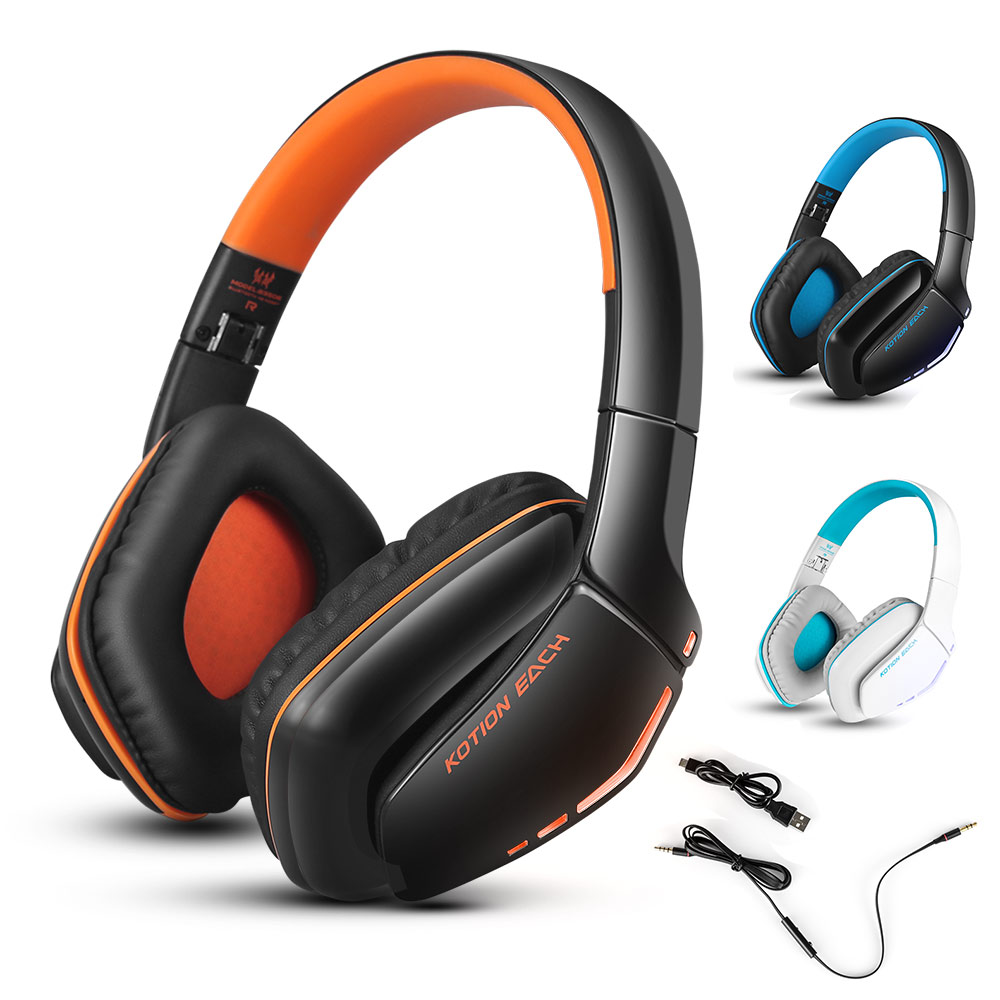 ФОТО Bluetooth Headphones Wireless Headset Portable Foldable  Earphone Sport Gaming Headphone Over The Head Computer Headset